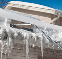 ice dam roof